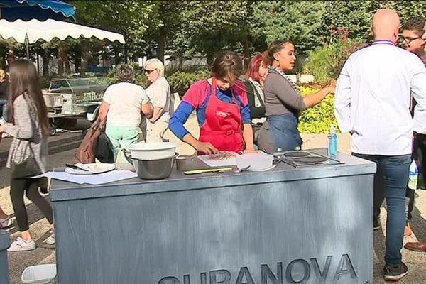 Dans la Loire, les unités mobiles culinaires de l'association Supanova