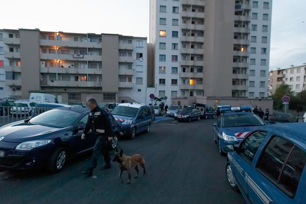 Un important dispositif policier était déployé ce mardi soir dans le quartier Sainte-Musse à Toulon - Archives.