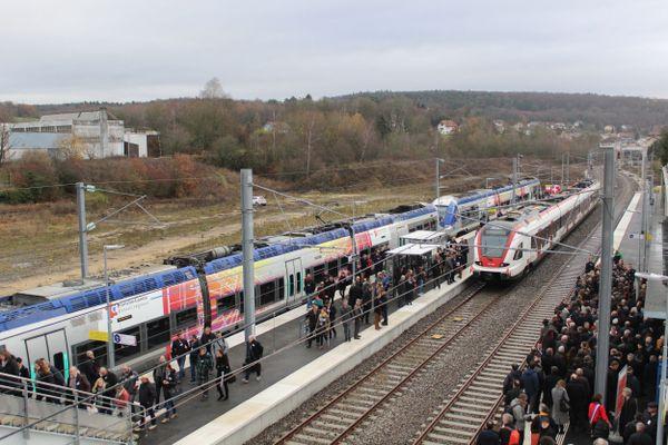 La ligne Belfort-Delle inaugurée le 6 décembre 2018