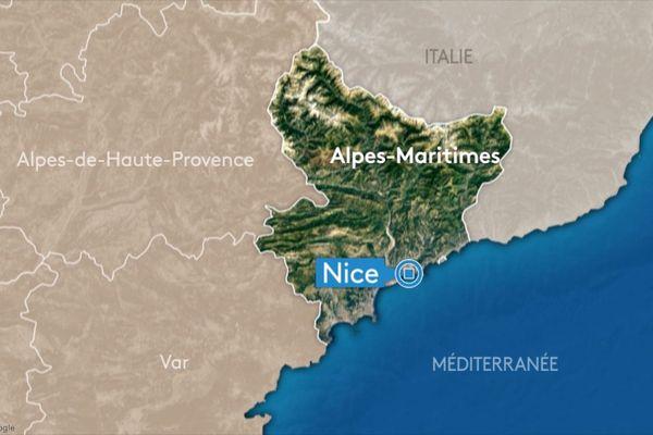 La ville de Nice, dans les Alpes-Maritimes