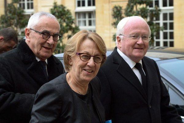 Marylise Lebranchu, ministre de la décentralisation et Michel Vauzelle, président de la région PACA encore pour quelques mois car il ne se représente pas.
