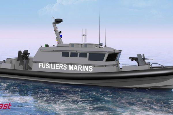 Les douze vedettes commandées seront déployées à Brest, Cherbourg, Toulon et Djibouti pour participer à la protection des sites sensibles de la Marine nationale.