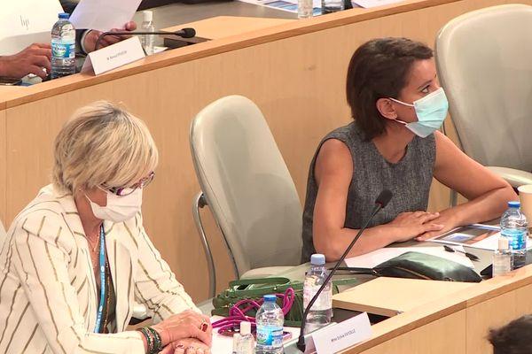 Najat Vallaud Belkacem présidera le groupe socialiste à l'assemblée régionale. Elle a obtenu 18 voix lors de l'élection a la présidence de l'Assemblée
