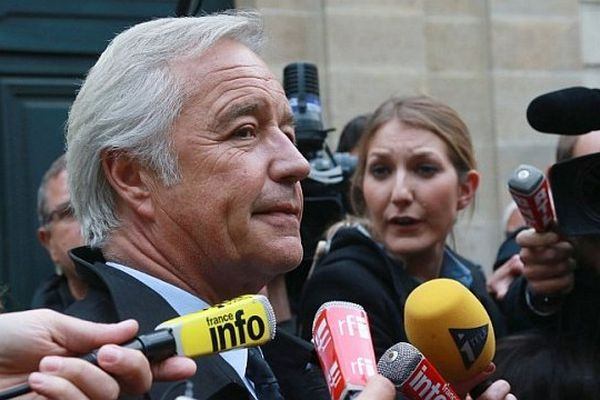 François Rebsamen, président du groupe socialiste au Sénat et sénateur-maire de Dijon.