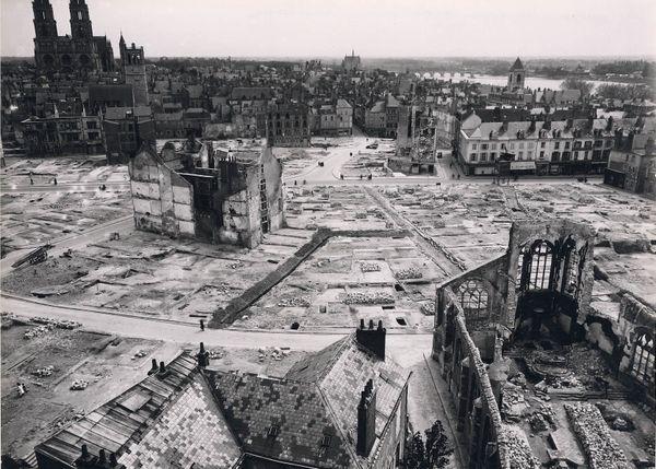 Le quartier Saint-Paul a été presqu'entièrement rasé pendant la Seconde guerre mondiale