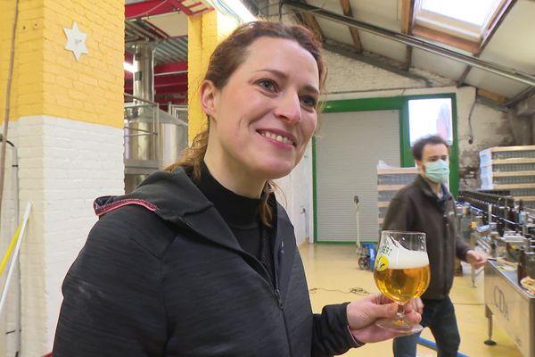 Joséphine De Clerck est l'une des rares à être brasseuse. Depuis 2011, elle est à la tête de la brasserie familiale installée à Péronne dans la Somme de puis 1926.