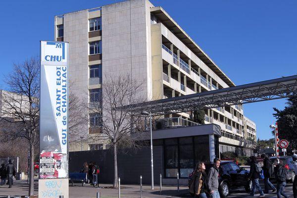 CHU Gui de Chauliac à Montpellier - archives