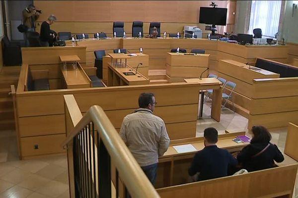La salle d'audience du Tribunal de Grande Instance de Rodez