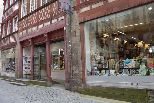 La librairie Le Failler à Rennes