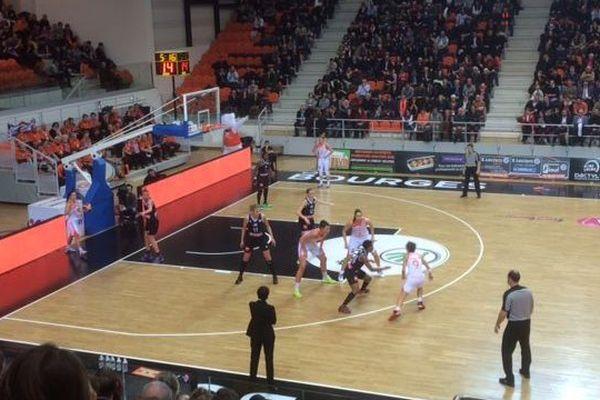 Bourges basket - Girona 68 - 47 - 10 février 2016