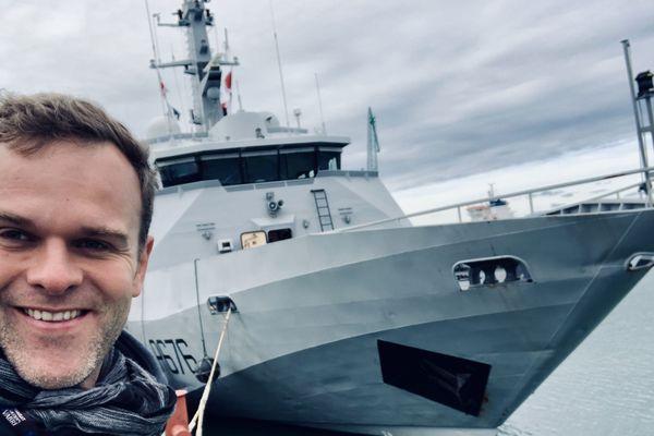 Immersion à bord du PSP le Flamant, bateau arbitre du départ de la Transat Jacques Vabre 2019 au Havre