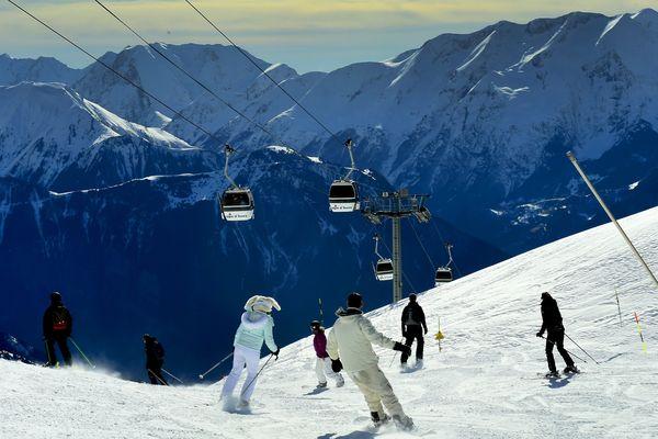 Les conditions étaient idéales pour le week-end des fêtes à l'Alpe d'Huez (Isère).