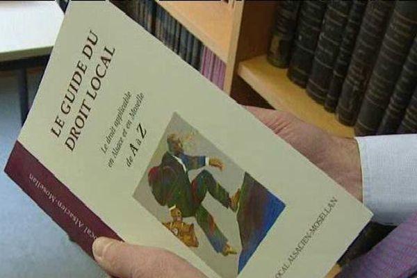 La 4è édition du guide du droit local
