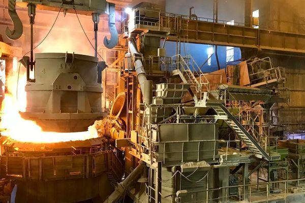 L'usine Ascoval de Saint-Saulve.