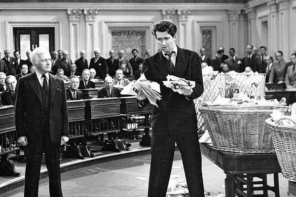 M. Smith au Sénat, de Frank Capra, a obtenu le Grand Prix Jean Zay
