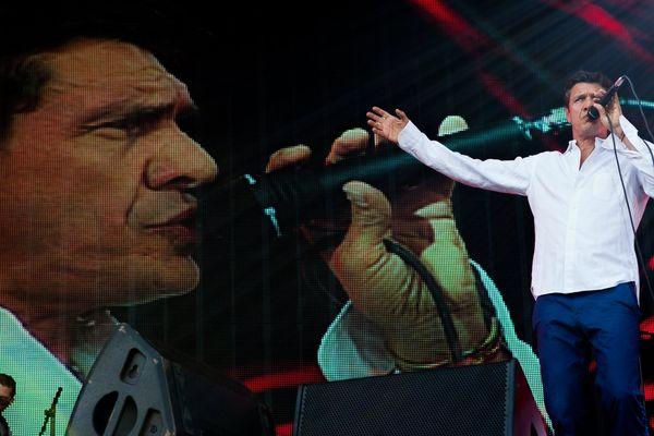 Marc Lavoine, chanteur de charme.
