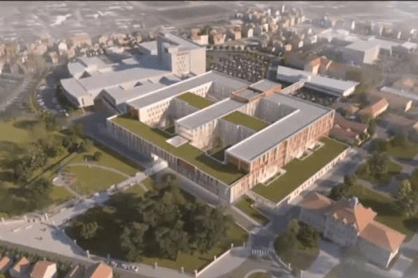 Le nouvel hôpital de Libourne ouvrira en septembre 2017