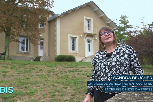 Sandra Beucher, chargée de développement culturel et des résidences d'artistes de Grand Poitiers