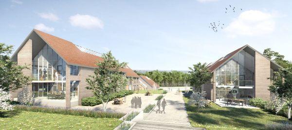 logements étudiants sur le futur site de Goustranville