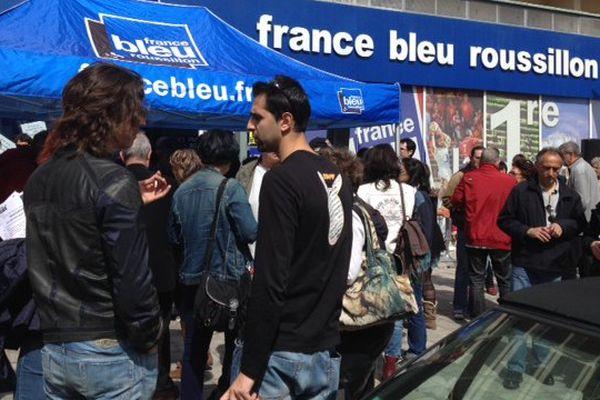 grève, radio, france bleu, roussillon