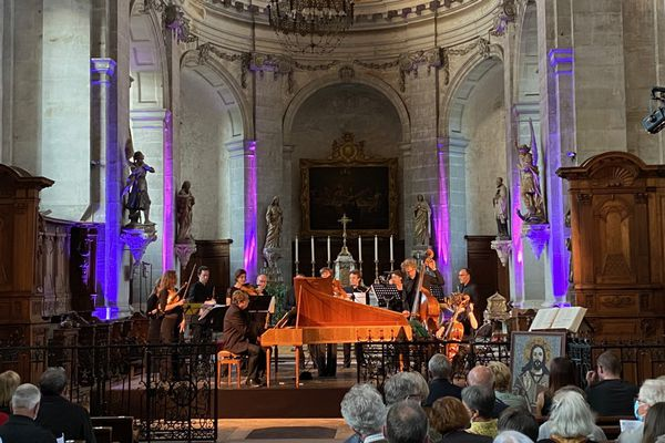 Ouverture du Festival des Abbayes vendredi 9 juillet 2021.