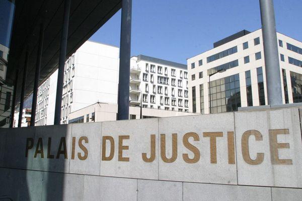 L'entrée du palais de justice de Grenoble. (Photo d'illustration)