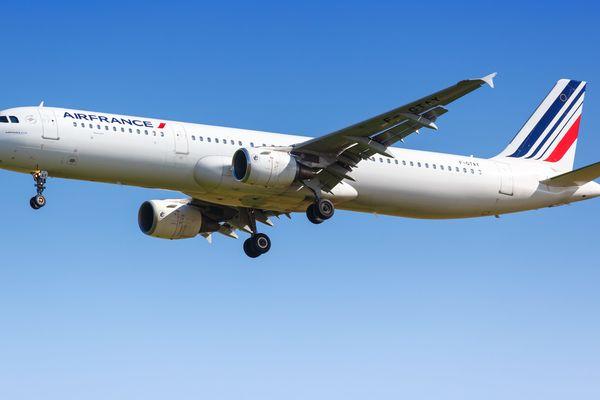 Airbus A321 de la compagnie Air France (Archives)