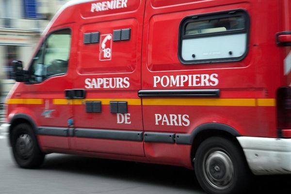Un incendie s'est déclaré dans un immeuble de Boulogne-Billancourt ce vendredi soir.