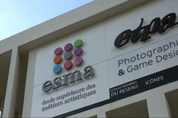 Montpellier - l'ESMA, l'École Supérieure des Métiers Artistiques - archives