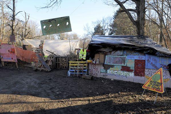 La ZAD de Roybon (Isère) a été montée pour contester le projet de Center Parcs.