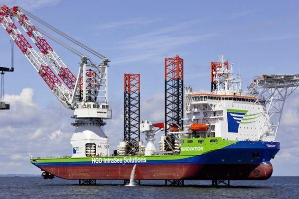 Innovation sera affrété par Areva à partir de 2014 pour la pose d'éoliennes en mer