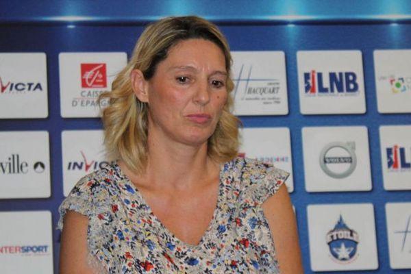 Audrey Sauret, marraine de l'association Star de Champagne