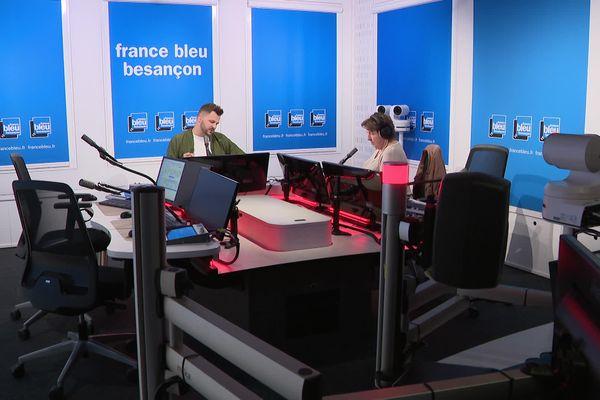 France Bleu Besançon France 3 Matin du lundi au vendredi de 7h à 9h, présenté par Pol Laurent, Marion Streicher et Dimitri Imbert.