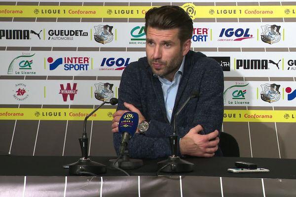 Après la défaite, Luka Elsner veut rester optimiste pour les matchs à venir.