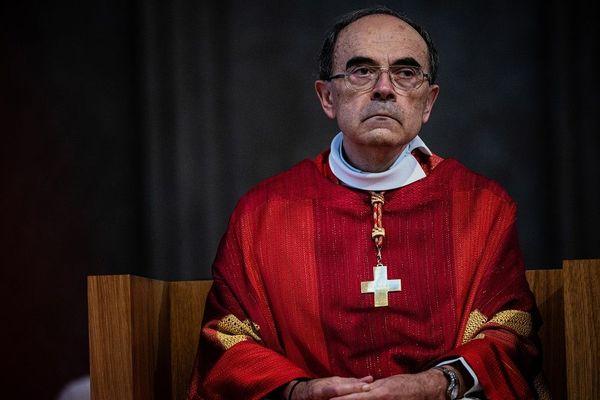 L'ancien archevêque de Lyon, Philippe Barbarin, le 28 juin dernier - Cathédrale Saint-Jean - archives