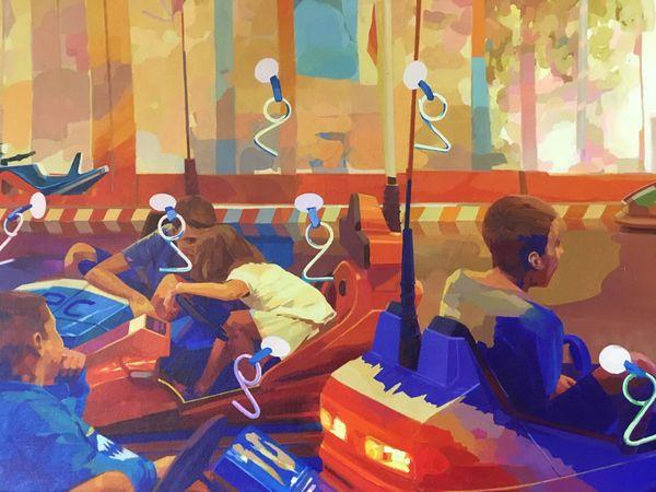 Une des œuvres de Matth Velvet exposées à l'Institut Bernard Magrez