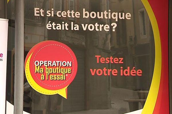 """La commune de Mende a commencé à mettre en place le dispositif """"boutiques à l'essai"""", il y a trois ans."""