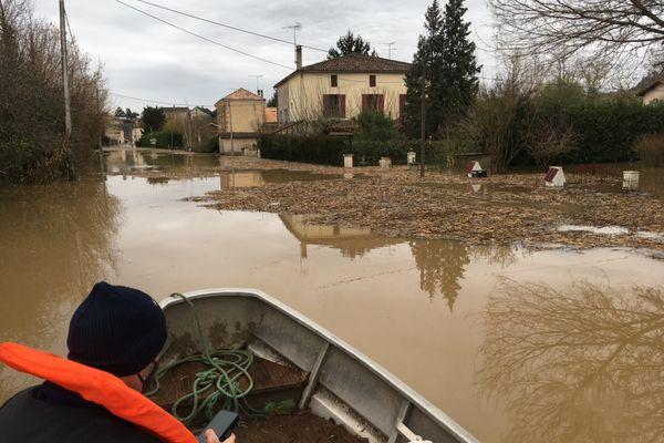 Partir quand il n'y a plus d'autres solutions à Fontet dans le sud de la Gironde