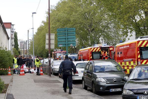 Une fusillade avait fait deux morts le 25 avril 2016 devant une école du quartier Teisseire à Grenoble. (Archives)