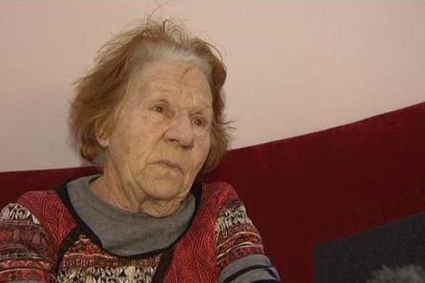 Andrée Joffre, maman de Jean-Luc Joffre, l'une des trois personnes tuées le 3 mars 2011 à Rivesaltes - 29 janvier 2016