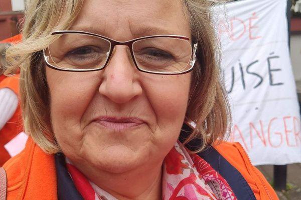 Martine Wolters, aide soignante à Bischwiler.