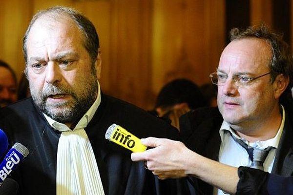 Maître Eric Dupond-Moretti, lors du procès en appel de Jean-Louis Muller, le 31 octobre 2013