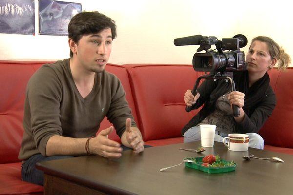 Au cours de l'atelier documentaire, Brest
