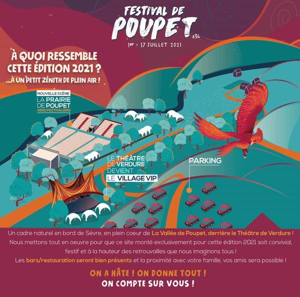 Une réorganisation des lieux pour le festival de Poupet 2021