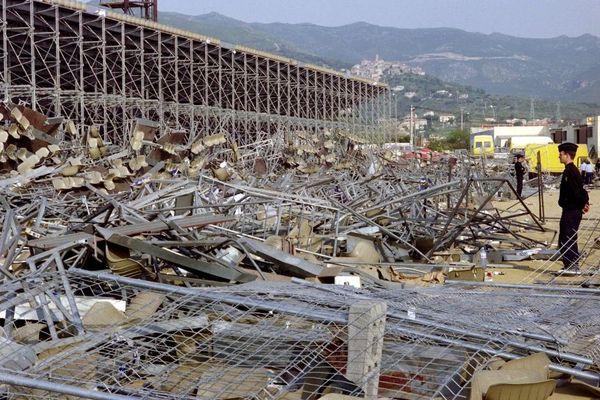 Le 5 mai 1992, l'effondrement d'une tribune avant la demi-finale de Coupe de France, qui devait opposer Bastia à Marseille, a fait 18 morts et plus de 2 300 blessés.