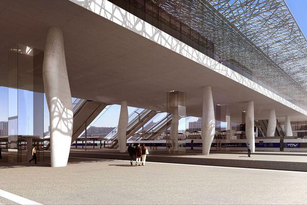 Extérieur Gare de SNCF