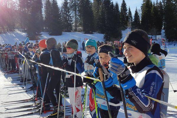 De nombreux jeunes ont participé à l'édition 2018 de la Transjeune, au départ des Rousses.