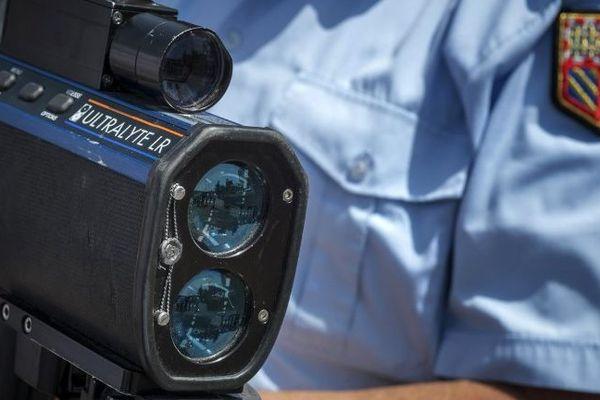 Un radar de la gendarmerie, image d'illustration.