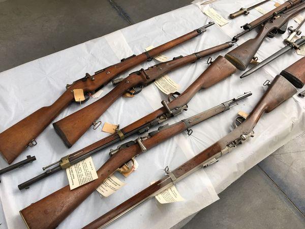 Des fusils fabriqués à la Manu et notamment le fusil Lebel