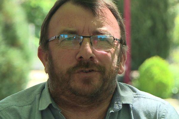 Thierry Toubert, le maire de Ciadoux (31)